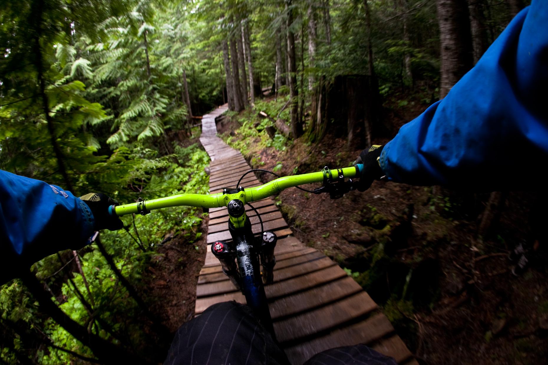 Whistler Bike Park by Justin Olsen - 10 Tips for Bike Photography
