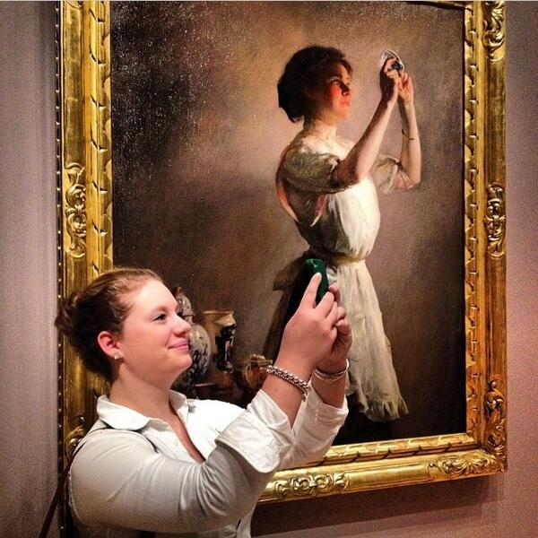 museumselfie Boston Museum of Fine Arts