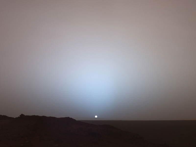 mars sunset rover - photo #22