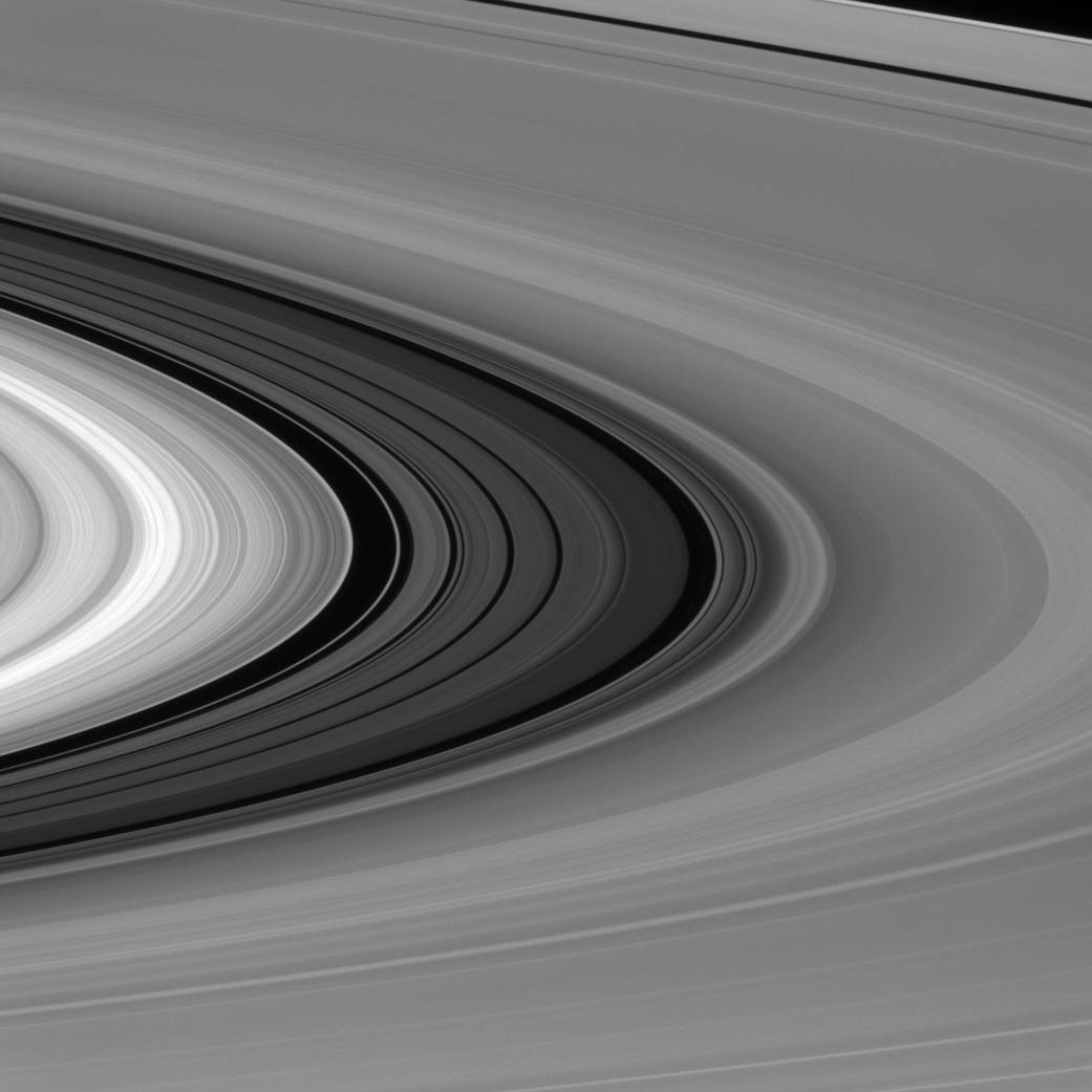 Rings of Saturn - NASA Space Images