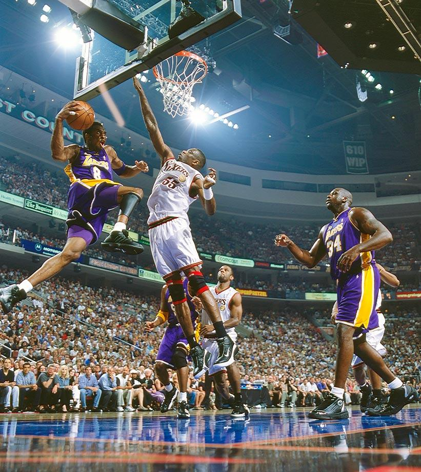 Kobe Bryant 2001 - 15 Legendary Shots in NBA Finals History