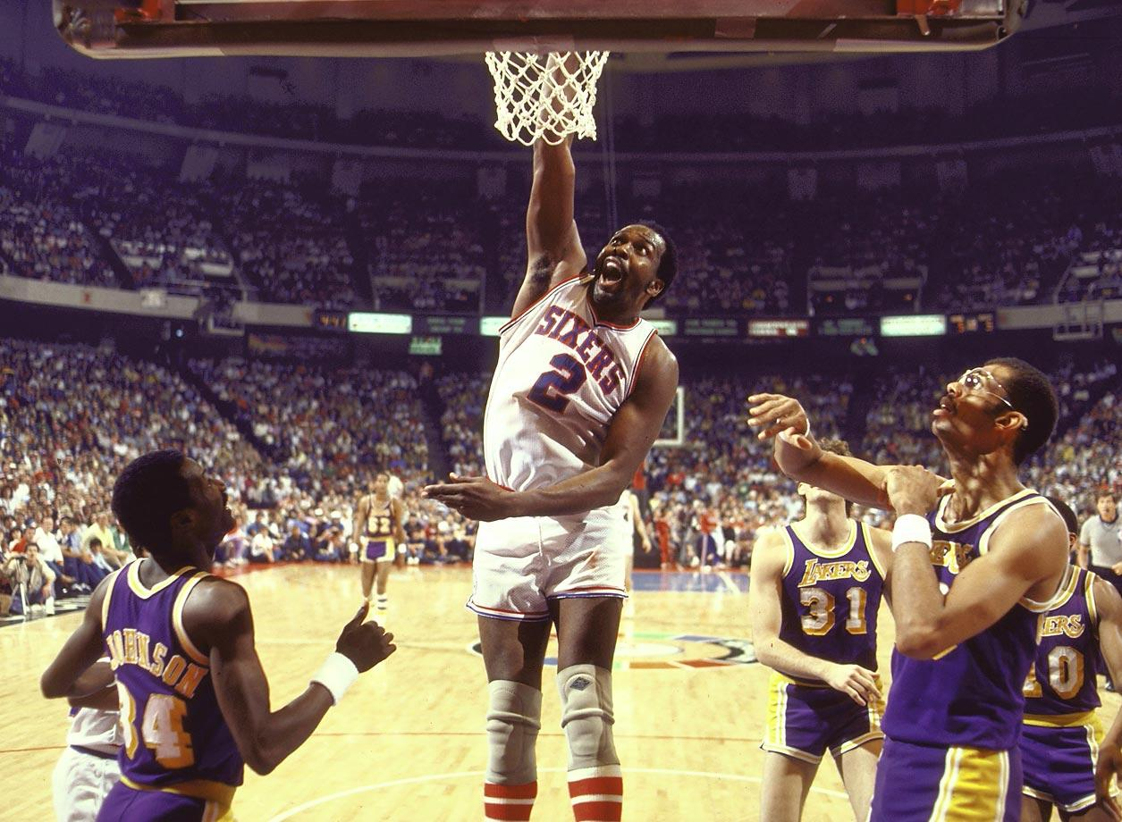 Moses Malone Slam Dunk 1983 - 15 Legendary Shots in NBA Finals History