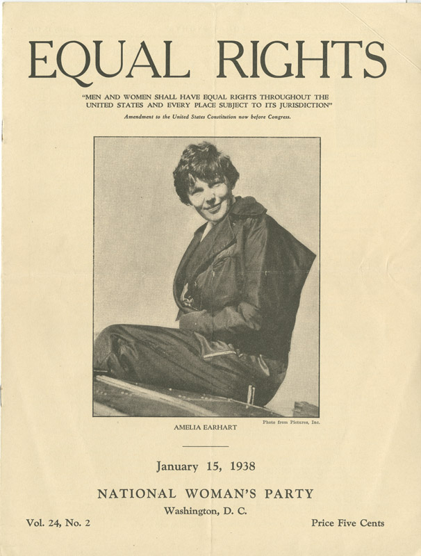 Amelia Earhart Women's Rights