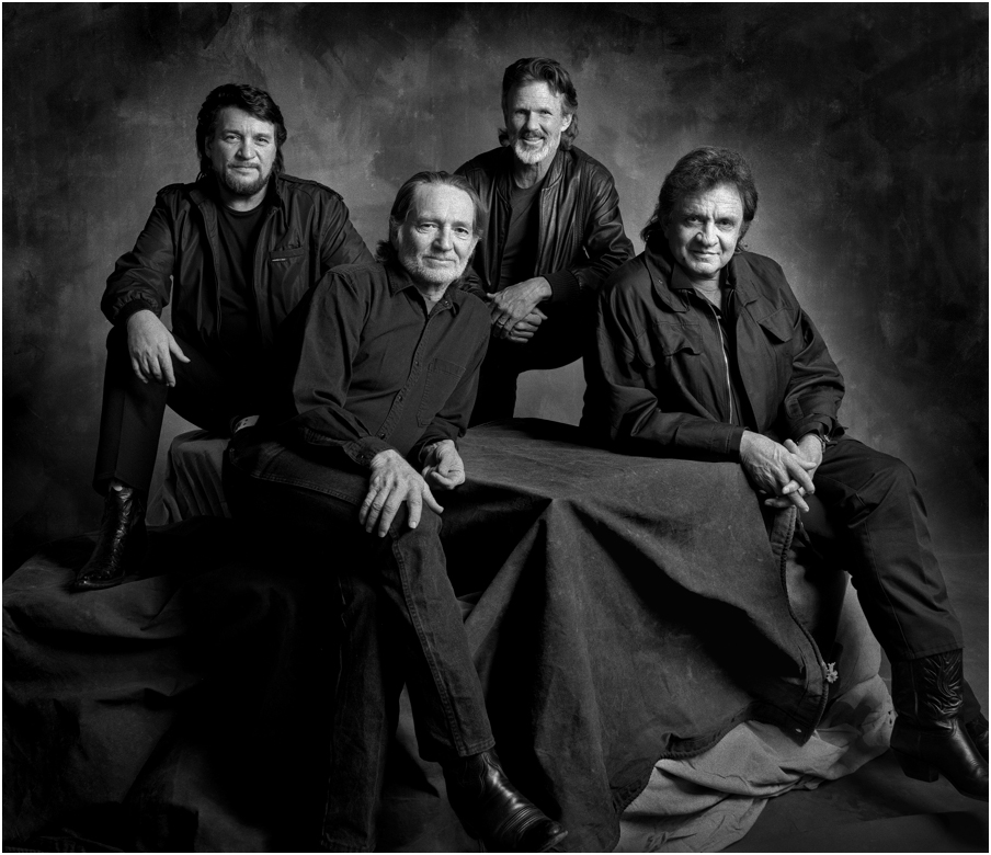 The Highwaymen, Historic Photos of the Opry by Jim McGuire - PicsArt Blog