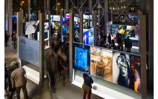 "Daido Moriyama ""Daido Tokyo Exposition at the Fondation Cartier Paris"