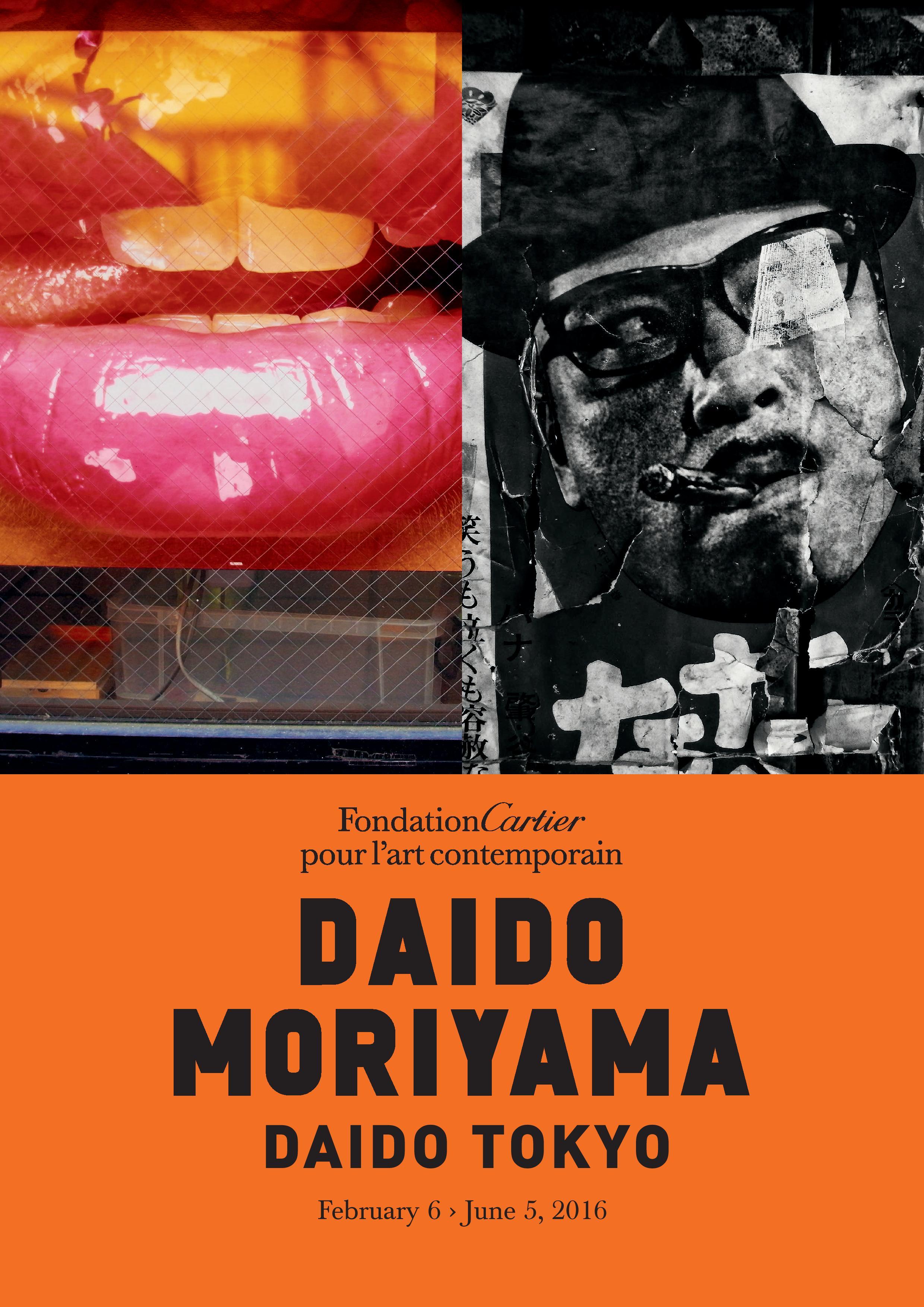 Daido Moriyama Foundation Cartier Poster