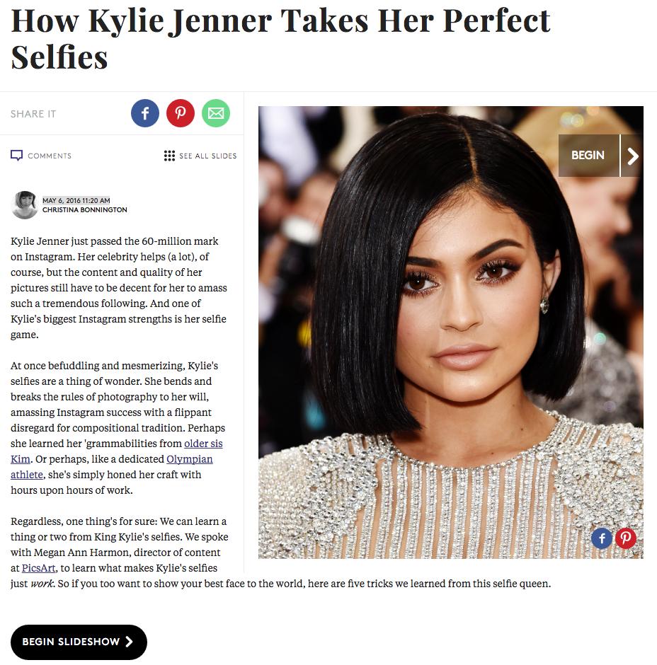 Kylie Jenner Selfies