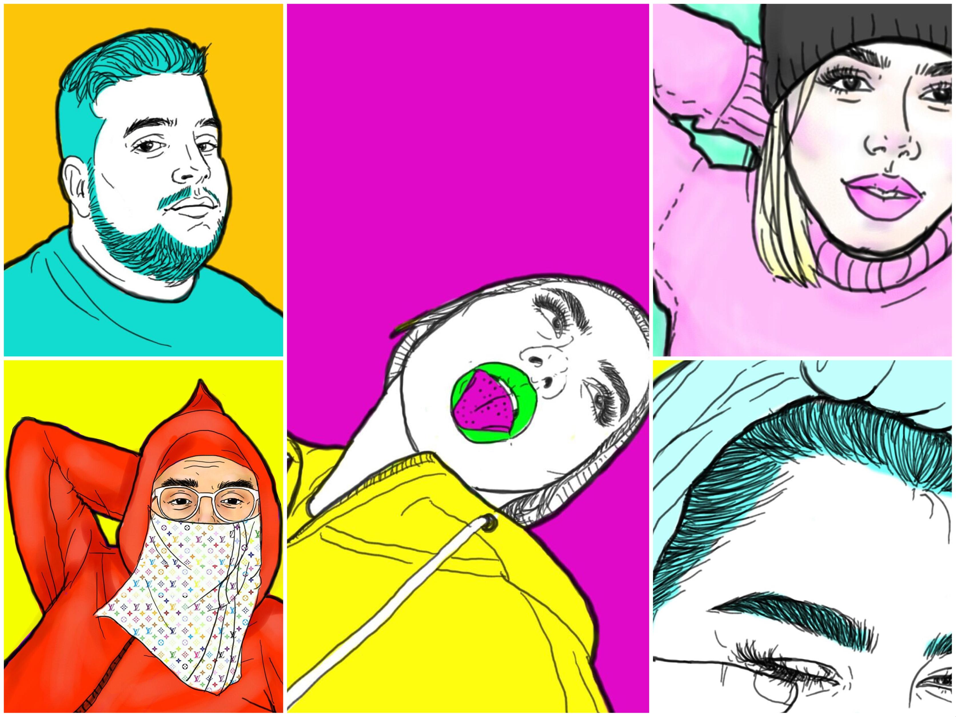 Jaula Humaima Albakali Tahar @umimi1 Draw Artist on PicsArt