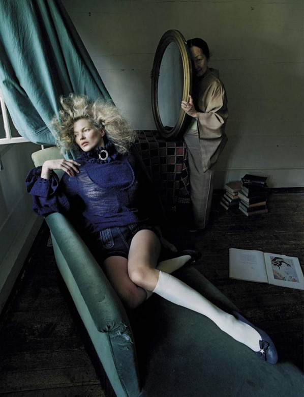 Kate Moss by Tim Walker for Vogue Italia September 2015