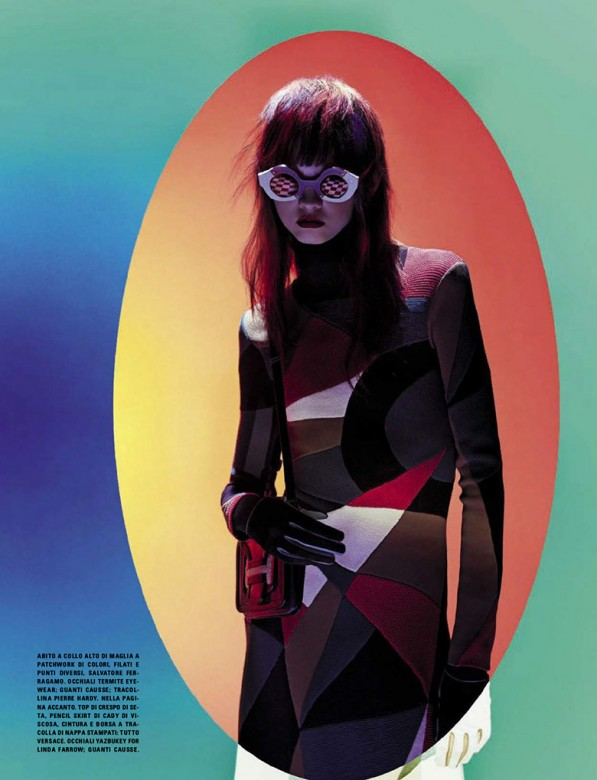 Molly Bair by Solve Sundsbo for Vogue Italia September 2015