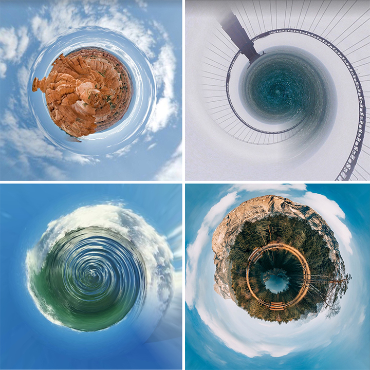 Tiny Planet Photo Effects PicsArt