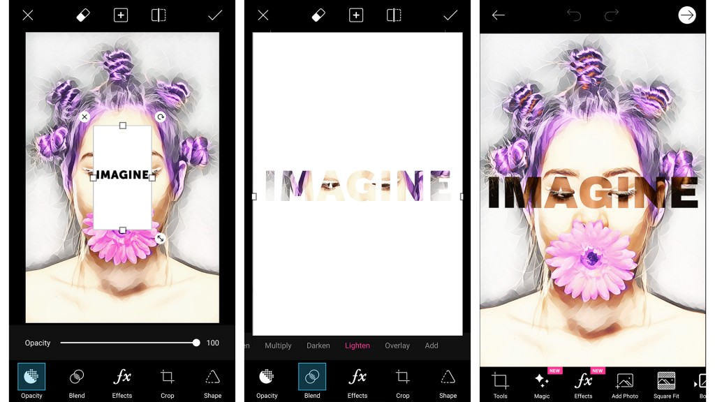 picsart magic effects android