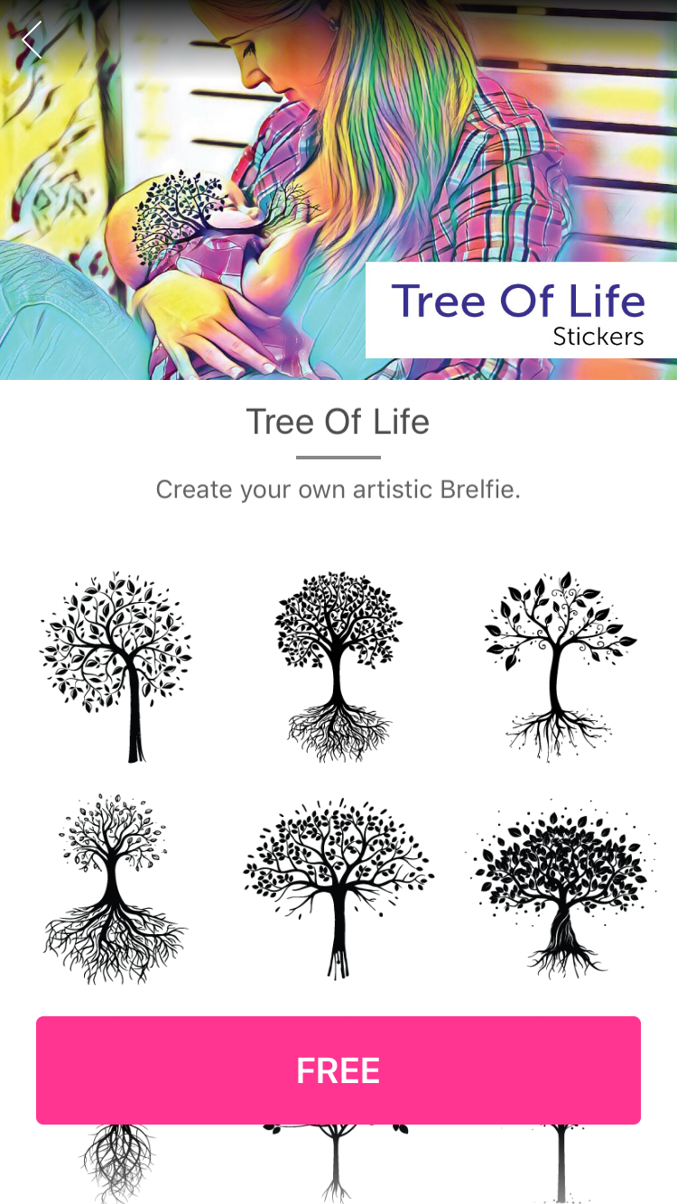 Tree of Life Clipart with Transparent Tree with Roots