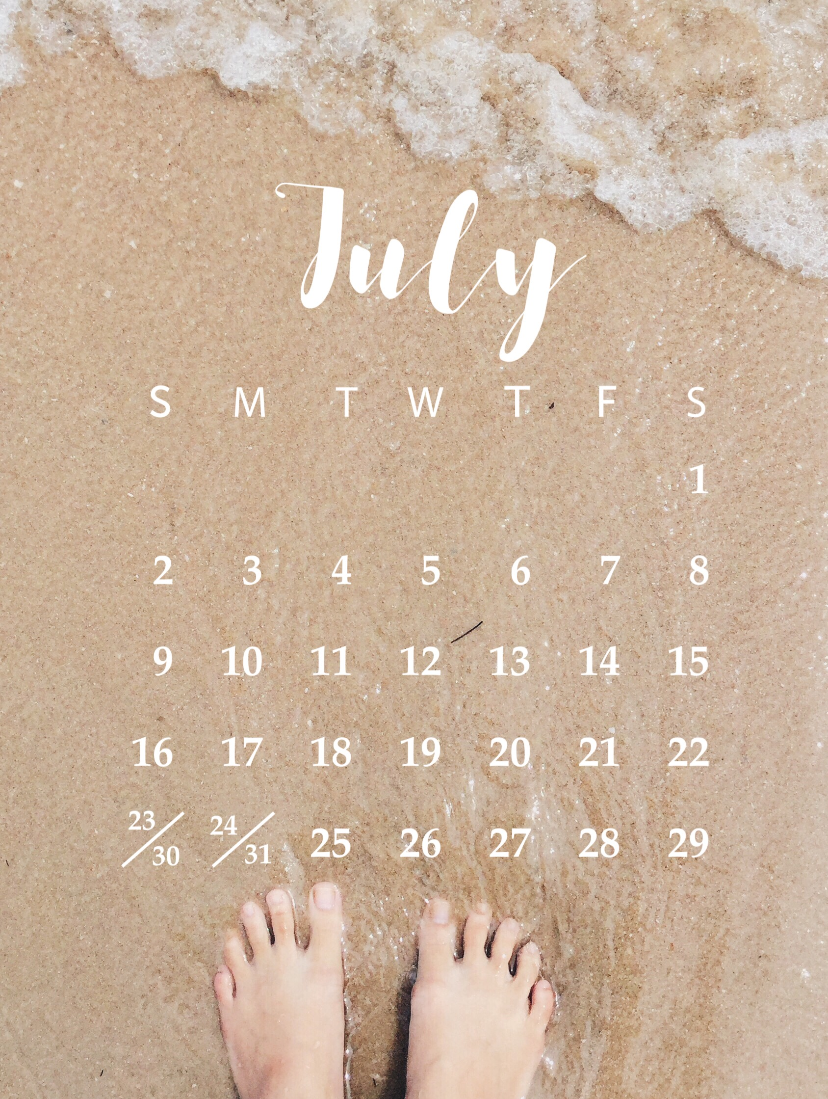 Custom Calendars made with the PicsArt Photo Editor and Collage Maker
