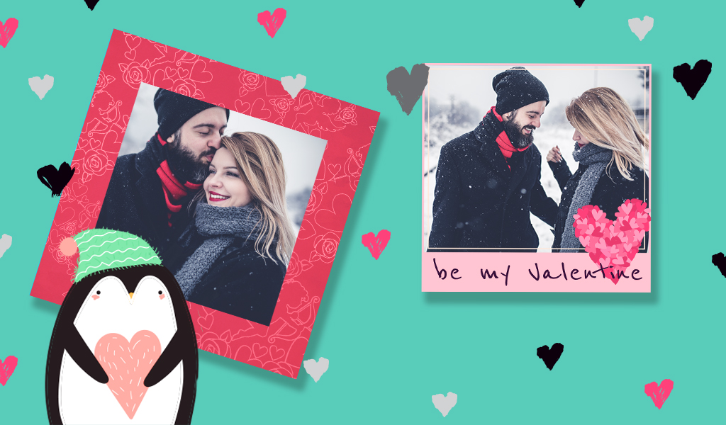 Valentine Frames for Valentine's Day from PicsArt Photo Editor