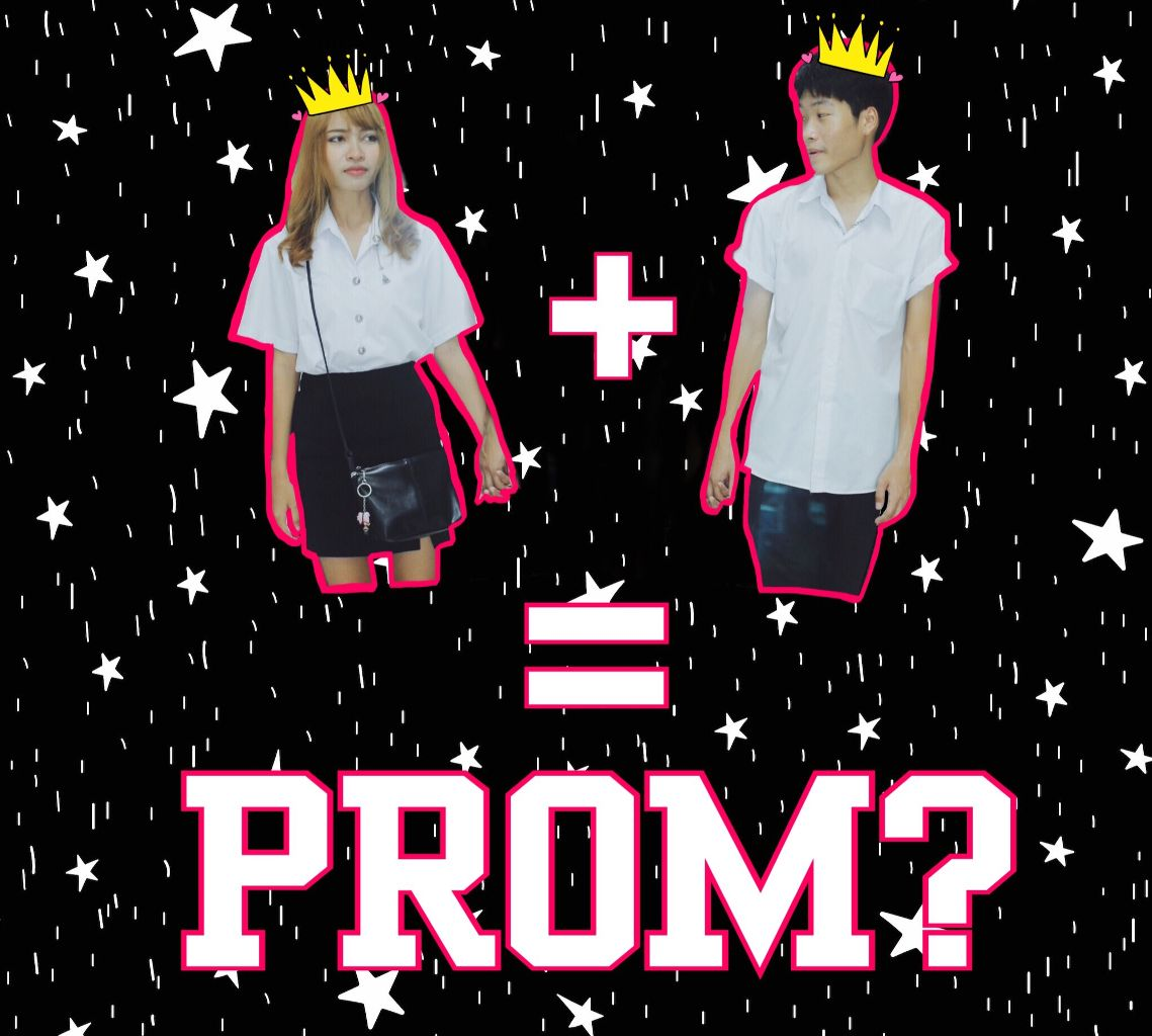 promposal photo collage