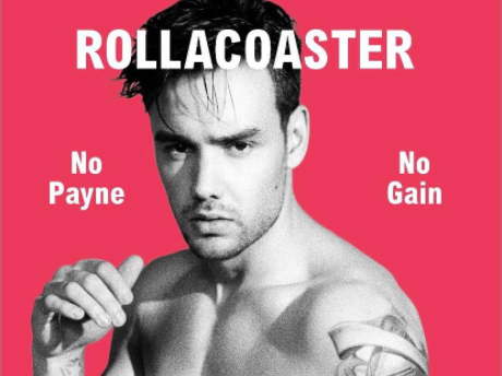 One Direction's Liam Payne on the cover of Rollacoaster magazine
