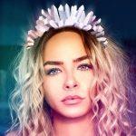 Coachella 2018 Crystal Crown edit