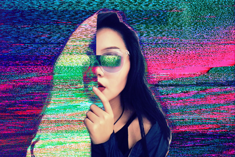 Make Glitch Selfies The Easy Way