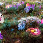 Easter Bunny Sighting With PicsArt Stickers