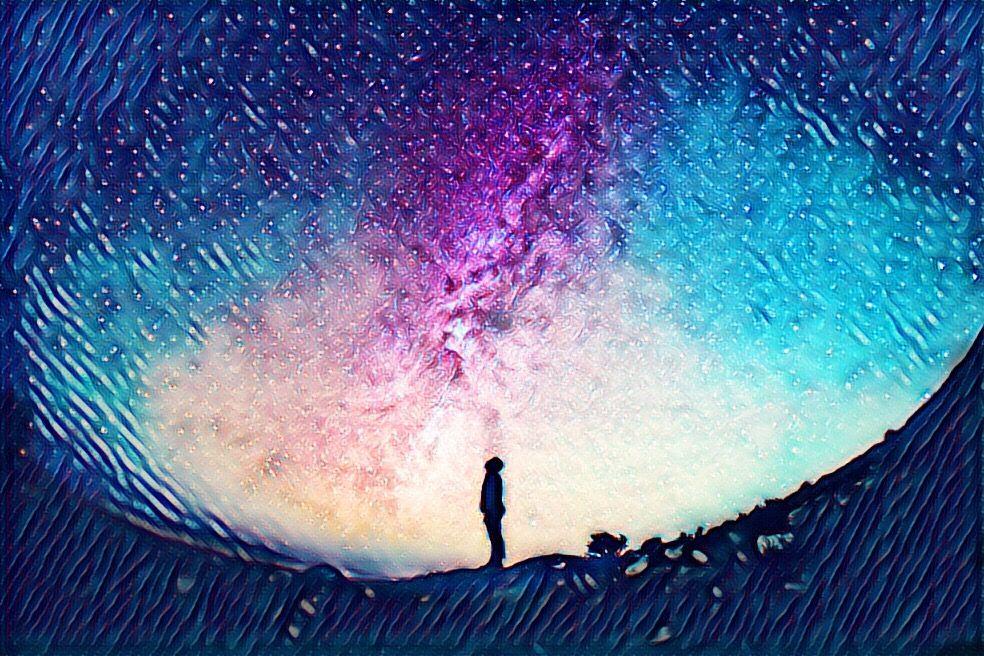 picsart magic galaxy edit
