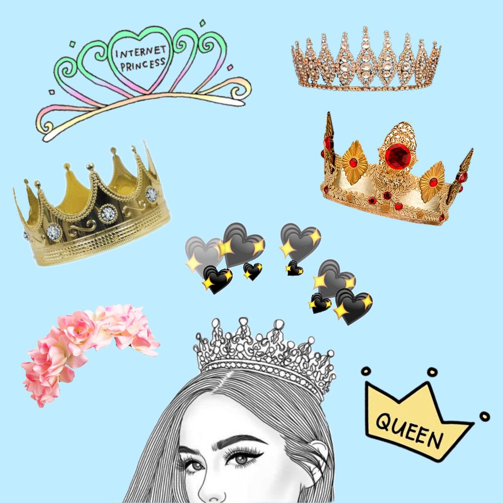 free crown stickers on picsart