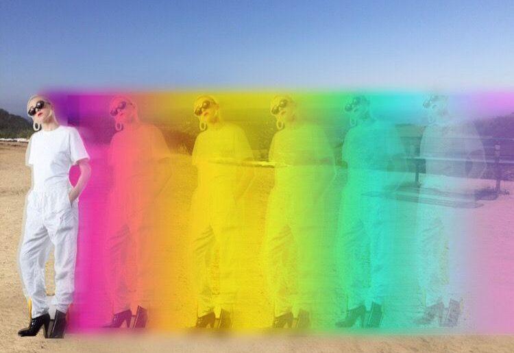 Rocking the Latest Rainbow Photo Trend