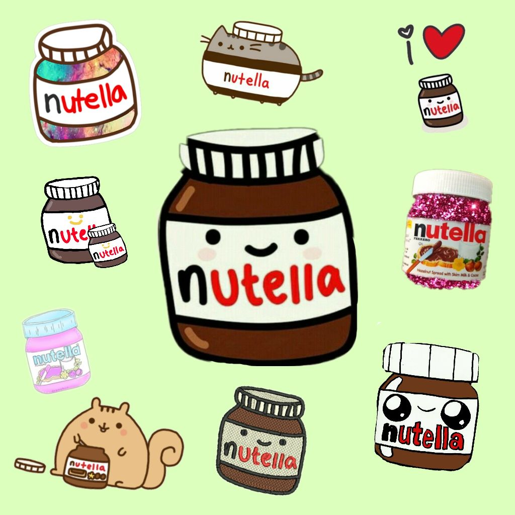 free nutella stickers on picsart