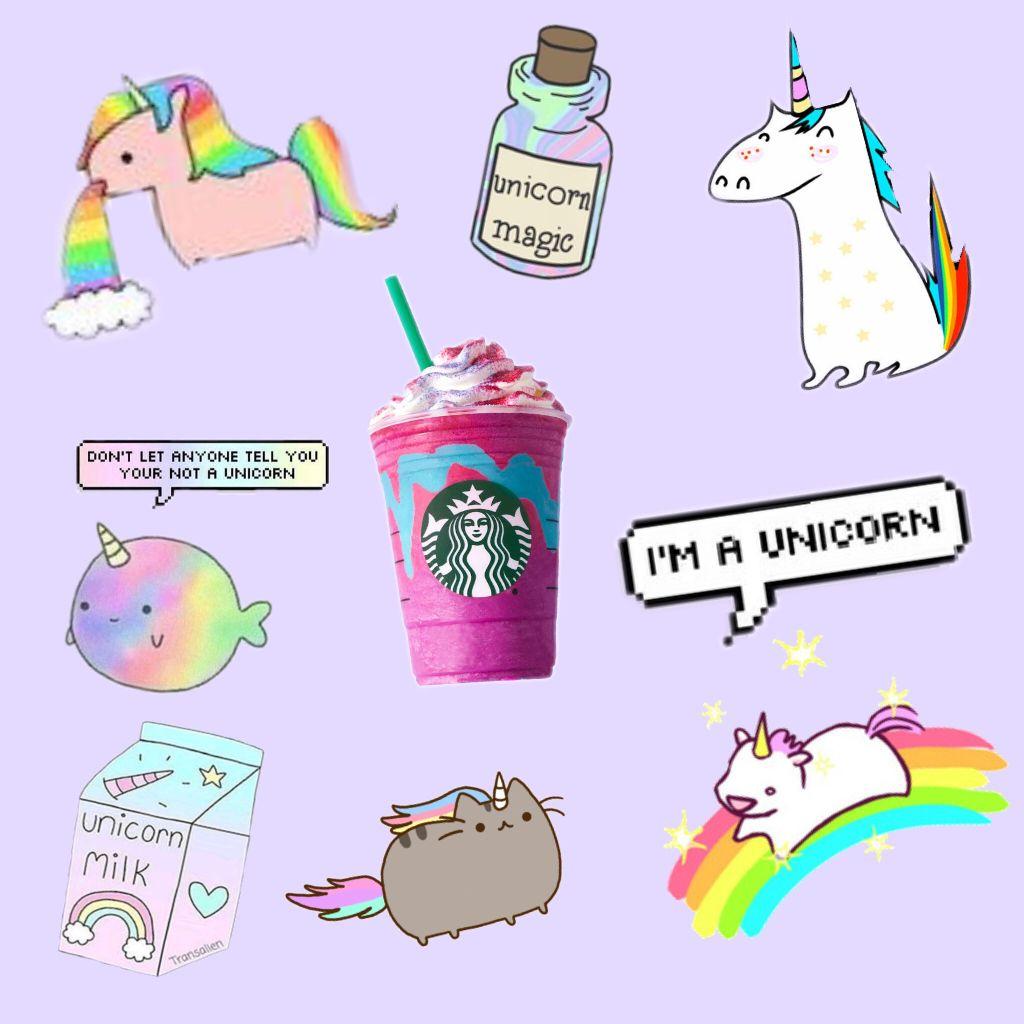 free unicorn stickers on picsart