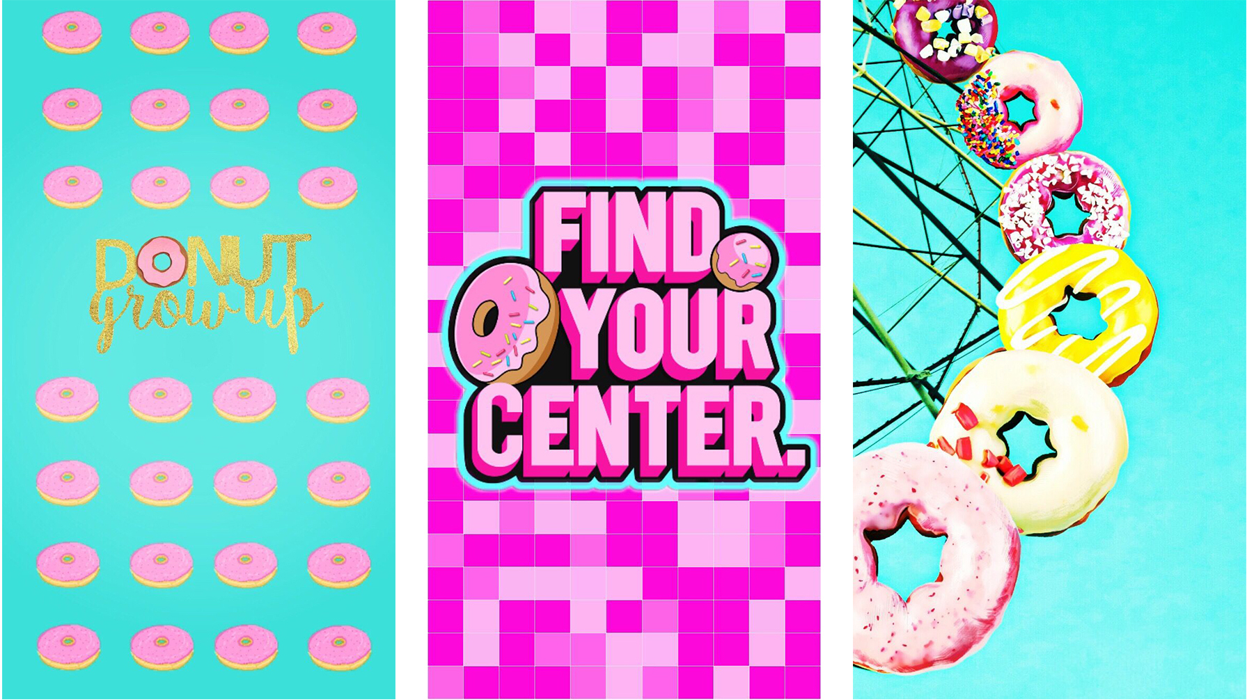 donut iphone wallpaper
