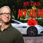 """Father's Day edit with a """"My Dad My Hero"""" sticker"""