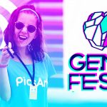 PicsArt girl at Annual electronic music festival GEM Fest