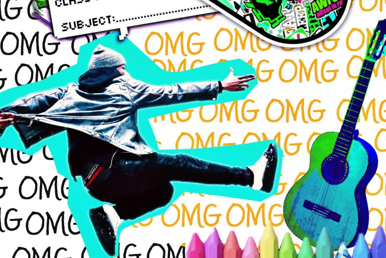 Back to School Freestyle Collages