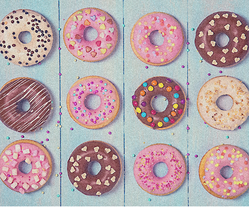 donut picture on picsart