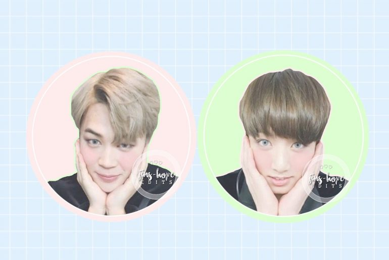 Pastel Kpop photo collage edits with picsart