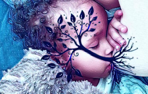 tree of life breastfeeding photo
