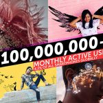 100,000,000+ Monthly Active Users on PicsArt, collage and sticker maker