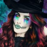 Natalia Vodianova's halloween inspired photo edit