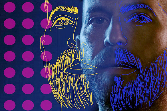 Mondo Cozmo remix video edited with sketch effect drawing and stickers