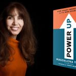 "Magdalena Yeşil and her book ""Power Up: How Smart Women Win in the New Economy"""