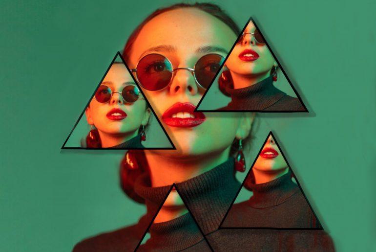 Illuminati-Inspired Photo Collage