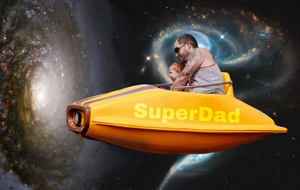 Turn Your Dad Into The Superhero