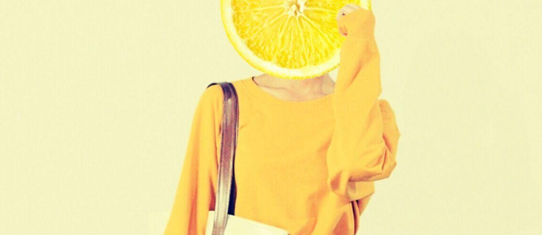 Girl using Lemon people remix on PicsArt