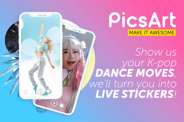 Live K-pop stickers by PicsArt