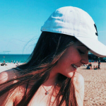 Photo of a girl wearing a cap, New Vintage filter on PicsArt
