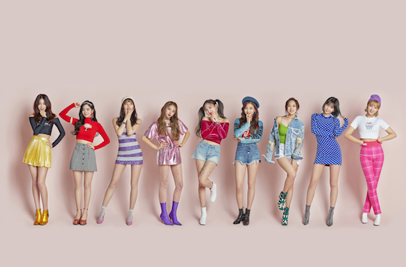 Girls in colourful outfits The KCON Editing Challenge on PicsArt