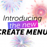 New Create Menu by PicsArt