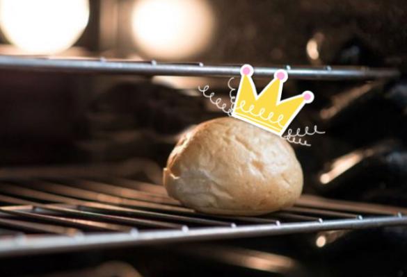 Bun edited with PicsArt crown sticker