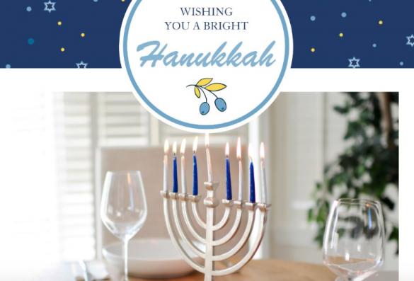 Hanukkah Templates by PicsArt