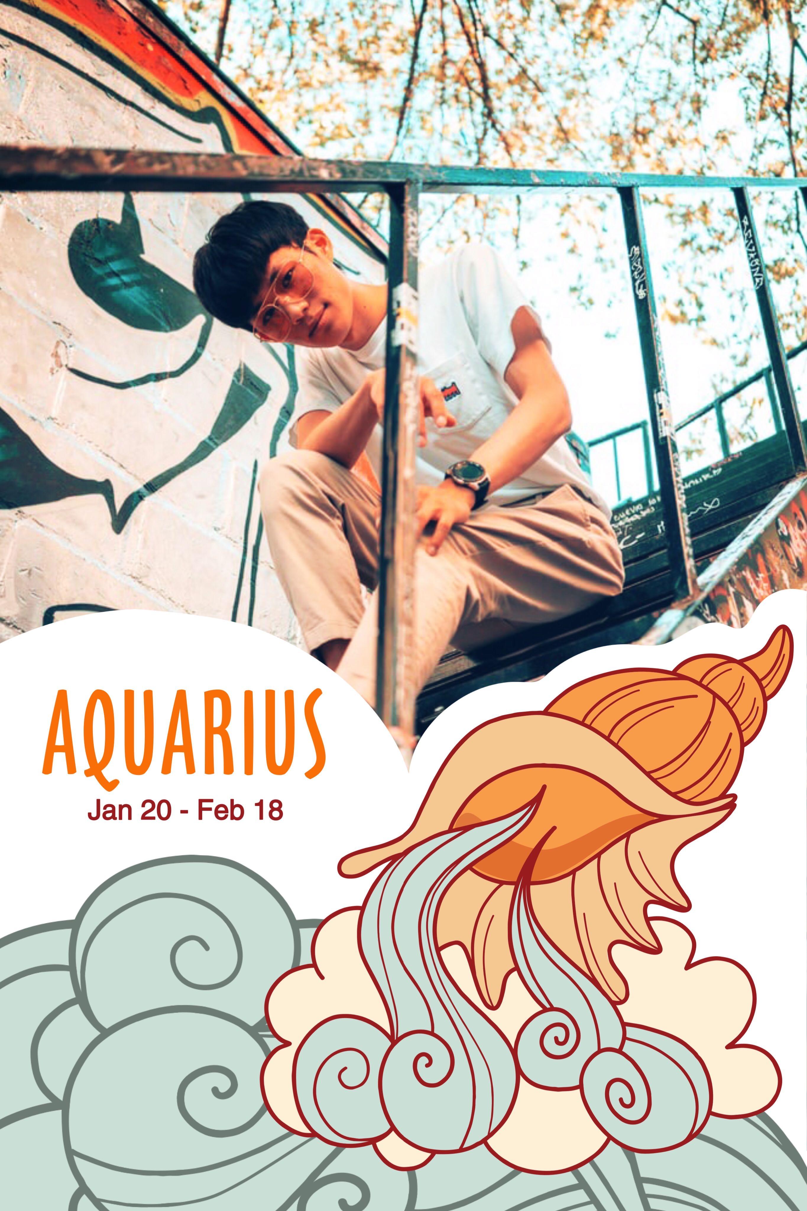 Aquarius Instagram Story Template